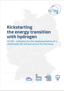 "GET H2 brochure ""Kickstartin the energy transition with hydrogen"""